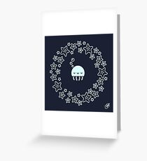 Goodnight Jellyfish Greeting Card