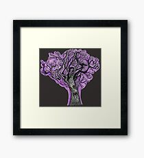 Spooky Tree Gothic Design Framed Print