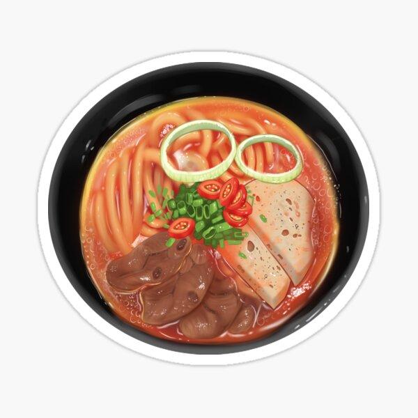 Vietnamese beef noodle Bún Bò Huế  Sticker