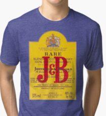J&B Rare Scotch Whisky Blend Tri-blend T-Shirt
