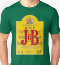 J&B Rare Scotch Whisky Blend Unisex T-Shirt