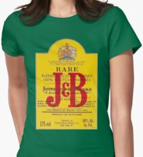 J&B Rare Scotch Whisky Blend Women's Fitted T-Shirt