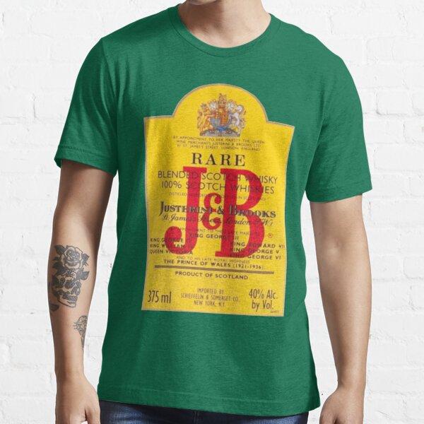 J&B Rare Scotch Whisky Blend Essential T-Shirt