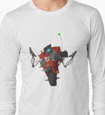 Badass Claptrap Sticker T-Shirt