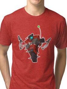 Badass Claptrap Sticker Tri-blend T-Shirt