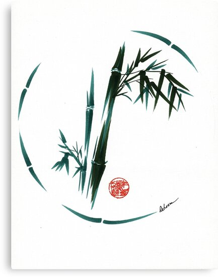 DREAM - Original enso brush painting by Rebecca Rees