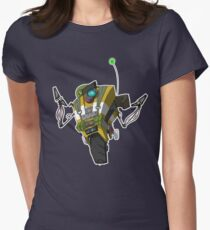 Soldier Claptrap Sticker Womens Fitted T-Shirt