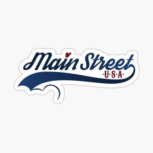 Main Street, U.S.A. Sticker