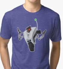 Portal Claptrap Sticker Tri-blend T-Shirt