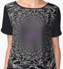 Live Wire Women's Chiffon Top