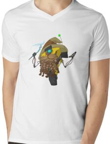Wizard Claptrap Sticker Mens V-Neck T-Shirt
