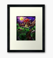 Red Gyarados Framed Print