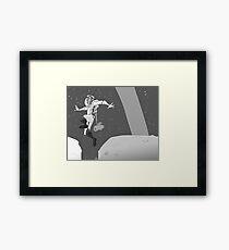 MoonBound Framed Print