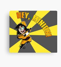 Hey, Minion! Canvas Print