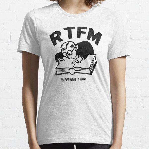 RTFM (BW) Essential T-Shirt