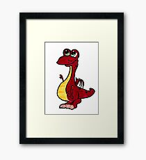 Lil' Dragon Framed Print