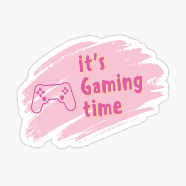 It's Gaming Time Sticker