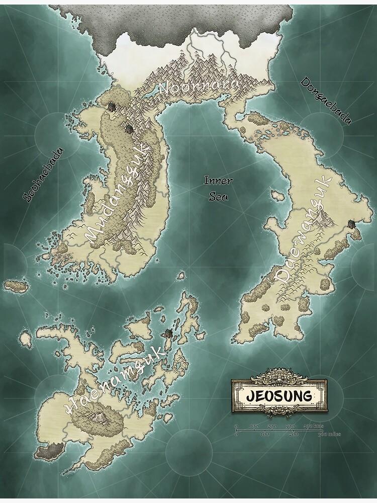 Map of Jeosung by aurelienlaine