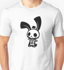 Chui Bunny's Skeleton in a Tiny Top Hat T-Shirt
