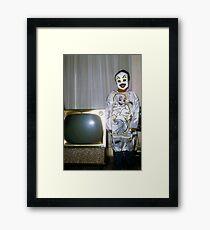 1960s Found Photo Halloween Card - Casper The Friendly Ghost Framed Print