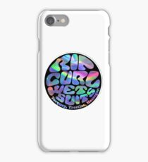 ripcurl wetsuits logo  iPhone Case/Skin