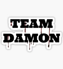 Team Damon Sticker