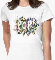pop Women's Fitted T-Shirt