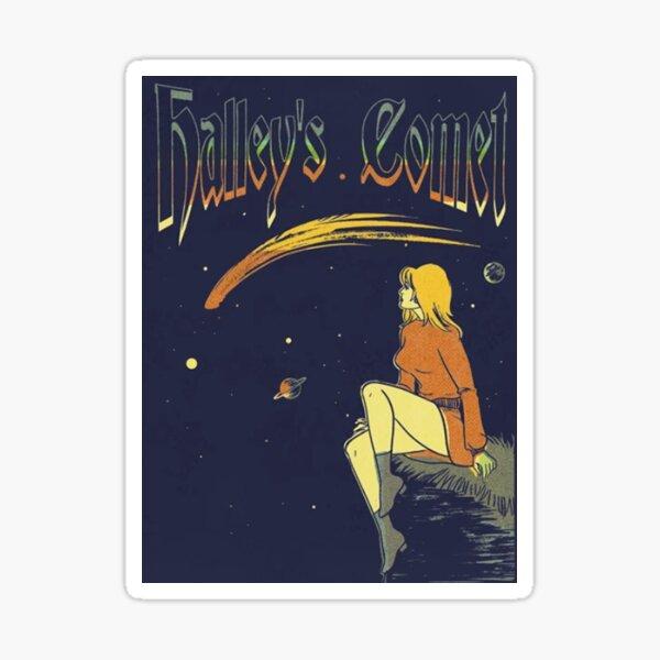 Halley's comet Sticker
