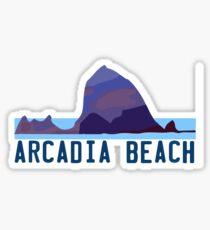 Arcardia Beach.  Sticker