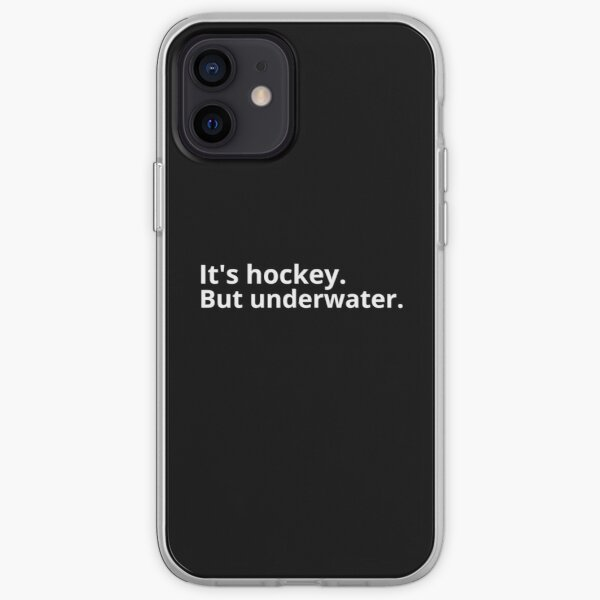 Its Hockey. But underwater  iPhone Soft Case