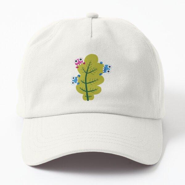Cute Bugs Eat Green Leaf Dad Hat