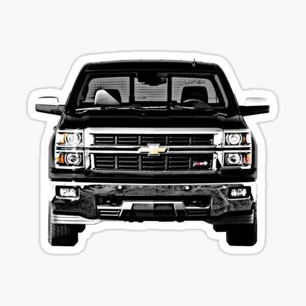 Vinyl Decal Chevrolet pride 4x4 sticker lift off road truck car GM Chevy