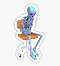 Lund skeleton Sticker