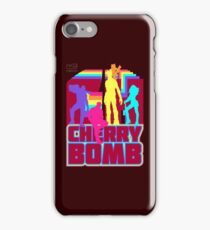 Cherry Bomb (Full) iPhone Case/Skin