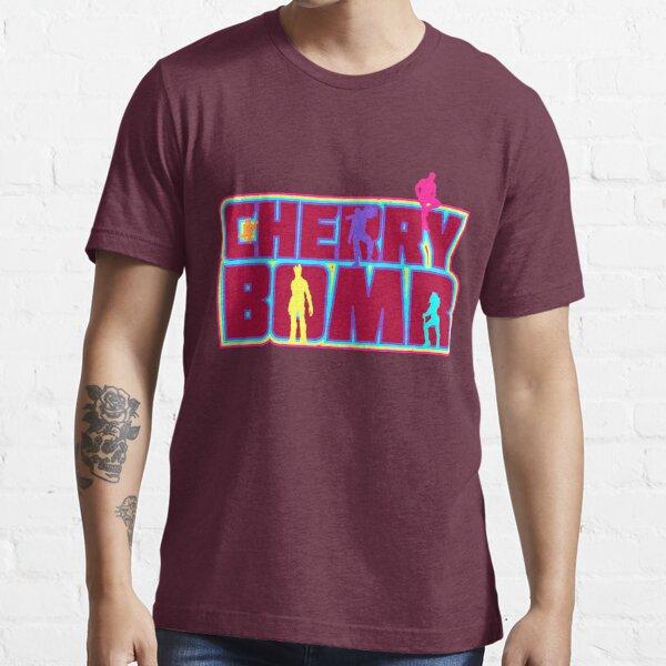 Cherry Bomb (Text) Essential T-Shirt