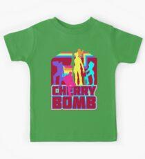 Cherry Bomb (Full) Kids Tee