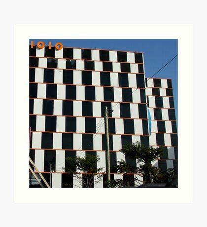 1010 building Melbourne Art Print