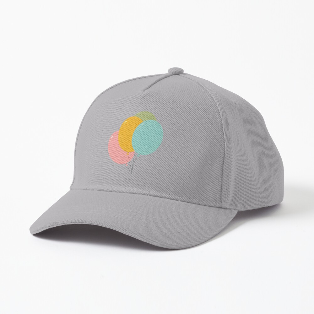 Colorful Balloons Cap