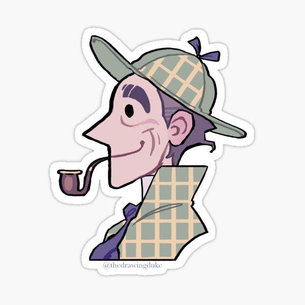 Happy Holmes Sticker