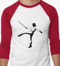 A Clockwork Orange. Alex.  Men's Baseball ¾ T-Shirt