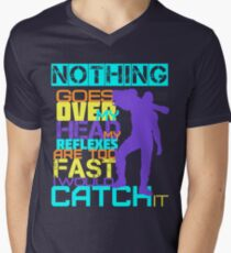 Nothing Goes Over My Head Men's V-Neck T-Shirt