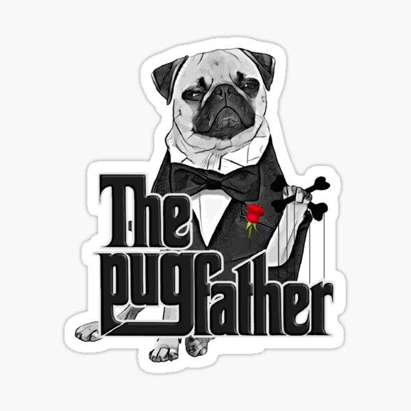 The Pugfather Sticker