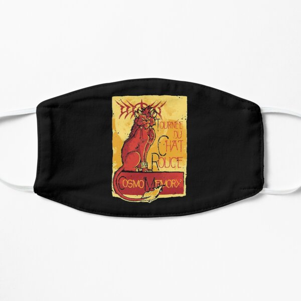 Le Chat Rouge  Flat Mask