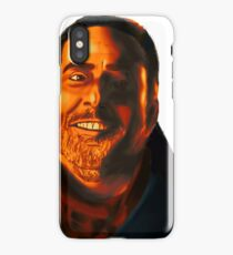 Negan Fanart- Orange Ver. iPhone Case/Skin