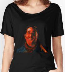 Negan Fanart- Crimson Ver. Women's Relaxed Fit T-Shirt