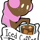 Iced Coffee Ghost by Cici Luna