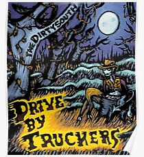 WILLIAMS02 Drive-By Truckers american band Tour 2016 Poster