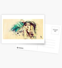 Orphan Black - Helena Painting  Postcards