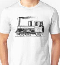 Vintage European Train A7 T-Shirt