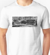 Vintage European Train A8 T-Shirt